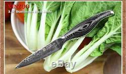 Kitchen Knife Cook Damascus Steel Set Chef Sharp Quality Professional Knives