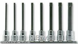 Koken Professional Quality Hand Tools 3/8 Drive Long Torx Socket Set 3025-100r/8