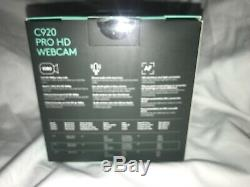 Logitech C920-C 1080p HD Pro Webcam New In Box High Quality Video Calls