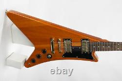 Moderne Heritage Series Top Quality Fanned Electric Guitar Black Hardware