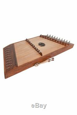 NEW PRO QUALITY 10 TREBLE 9 BASS STRINGS SHEESHAM HAMMERED DULCIMER with HAMMERS