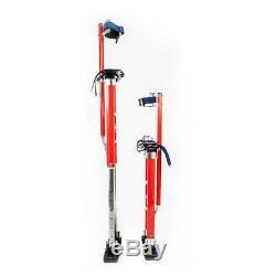New Pentagon Tool Professional 24-40 Red Drywall Stilts Highest Quality Stilts
