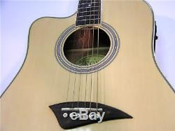 New Pro Quality Left Hand Standard Size Acoustic Electric Lefty Guitar