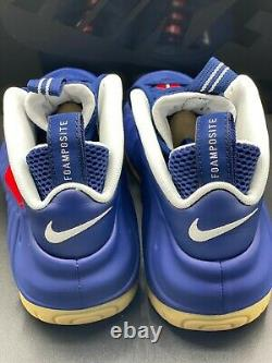 Nike Air Foamposite Pro Blue Void University Red White USA CJ0325-400 size 10