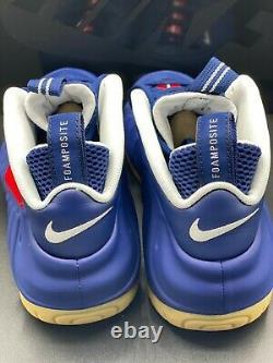 Nike Air Foamposite Pro Blue Void University Red White USA CJ0325-400 size 11