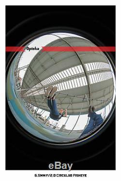 Opteka 6.5mm Fisheye Lens for Fuji X-Pro2 X-T2 X-T1 X-T20 X-T10 X-E2S X-E3 E2 A3