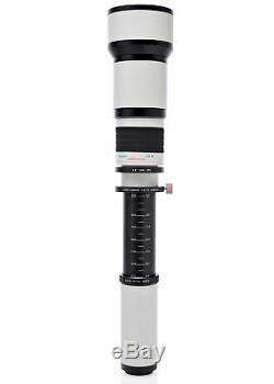 Opteka 650-2600mm Lens for Fuji X-Pro2 X-Pro1 T2 T1 T20 T10 E3 E2S E2 E1 A3 A2