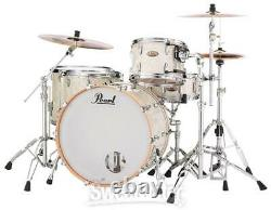 Pearl Session Studio Select 4-piece Shell Pack 24 Bass Drum Nicotine White