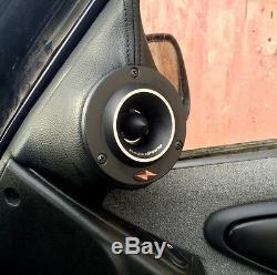 Precision Power Pt. 2 Pro Super Titanium Bullet Horn Tweeters Car Audio Quality