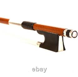 Pro Master D. PECCATTE Copy 4/4 Violin Bow High Quality Pernambuco silver mounted