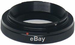 Pro White Line 500mm Tele Zoom Lens + Remote + For Canon Eos T5 T6 T7 40d T3 Xs