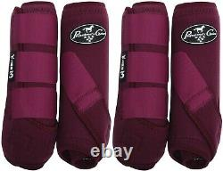 Professional's Choice SMB-3 Value Pack Front & Rear Wine M Sport Boots Pro SMB3