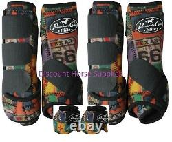 Professional's Choice VenTech ELITE Value 4 Pack with Bell Sport Boots Rodeo M Pro