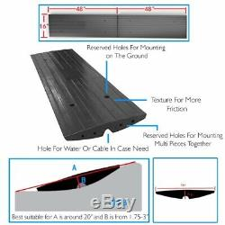 Pyle PCRBDR2 Vehicle Professional High Quality extendable curb ramp for driveway