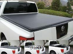 Quality Folding Pro Tonneau Tonno fits Dodge Chevrolet GMC Toyota Ford NissanNEW