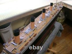 RMS Titanic Model/ pro built/ Huge 54 1200 scale museum quality detail