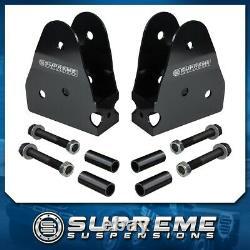 Radius Arm Drop Brackets 2-4 Lift Kits For 05-16 Ford F250 F350 Super Duty PRO