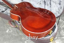 Starshine Top Quality Hollow Body L5 Electric Guitar Flamed Maple Top Brown