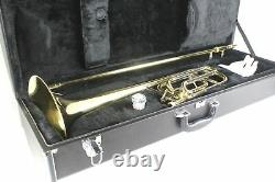 TENOR TROMBONE Bb with F Trigger Attachment Professional Quality! Free Case