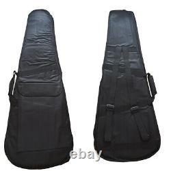 Top Quality LP380 Custom Shop Electric Guitar Ebony Fingerboard Figured Maple
