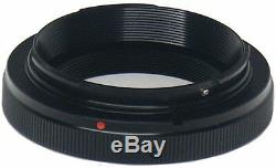 Vivitar White Pro Line Telephoto Zoom 500mm Lens For Canon Eos Rebel Sl1 Sl2