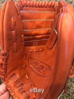 Wilson A2K A2000 B212 Pro Stock Select Baseball Glove RHT 12 WTA2KRB18B2