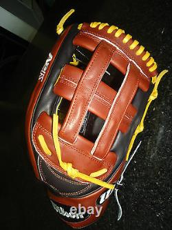 Wilson A2k 1799 Pro Stock Select Baseball Glove Wta2krb161799 12.75 Rh $379.99